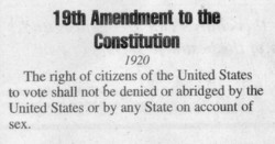 19th Amendment to the 