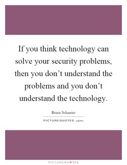 If you think technology can 