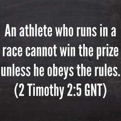 An athlete who runs in a 