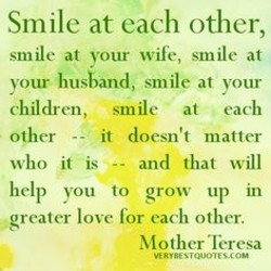 Smile at each other, 