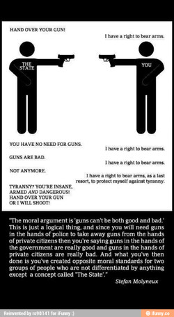 HAND OVER YOUR GUN! 