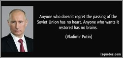 Anyone who doesn't regret the passing of the 