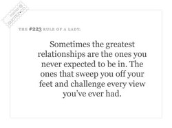 TUE #223 RULE OF A LADY: 