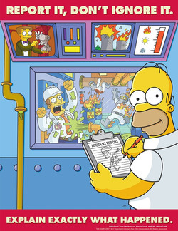REPORT IT, DON'T IGNORE IT. 
