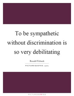 To be sympathetic 