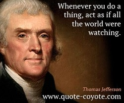 Whenever you do a 