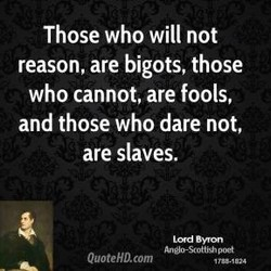 Those who will not 
