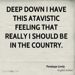 DEEP DOWN I HAVE 