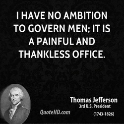 I HAVE NO AMBITION 