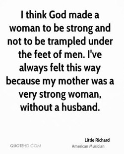 I think God made a 
