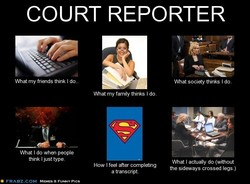 COURT REPORTER 