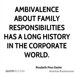 AMBIVALENCE 