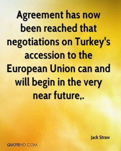 Agreement has now 