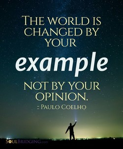 THE WORLD IS 