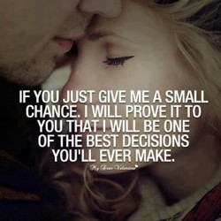 IF YOU JUST GIVE ME A SMALL 