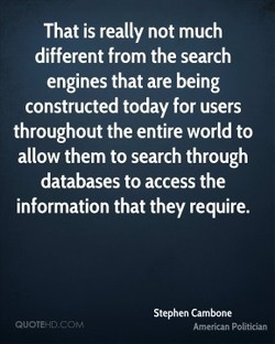 That is really not much 