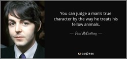 You can judge a man's true 