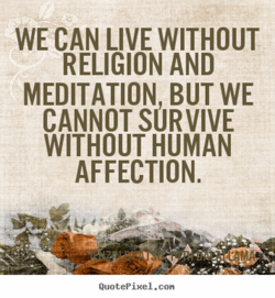WE CAN LIVE WITHOUT 