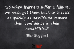 'ISO when learners suffer a failure, 