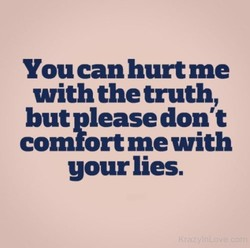 You can hurt me 