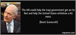 The UN could help the Iraqi government get on its 