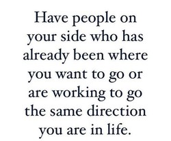 Have people on 