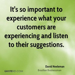 It's so important to 