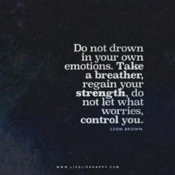 Do not drown 