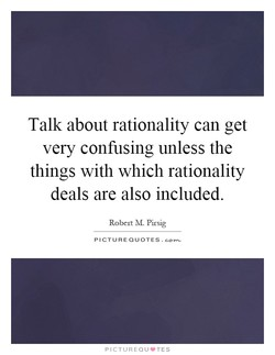 Talk about rationality can get 