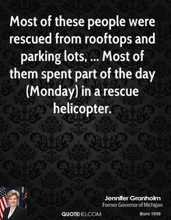 Most of these people were 
