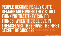 PEOPLE BECOME REALLY QUITE 