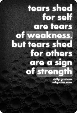 tears shed 