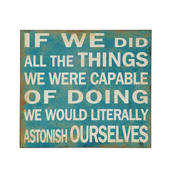 IF WE DID 