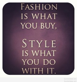 FASHION 