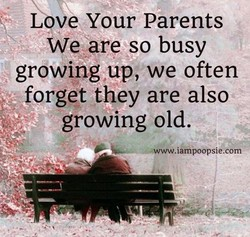 L ve Your Parents 