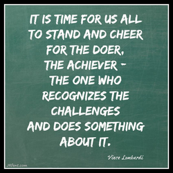 IT IS TIME FOR uS 