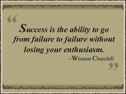 uccess is the ability to go 