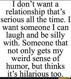 I don't want a 