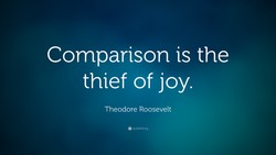 Comparison is the 