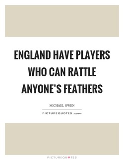 ENGLAND HAVE PLAYERS 