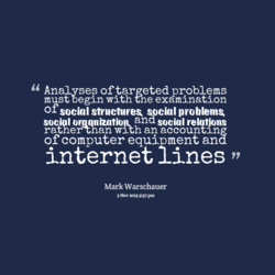Analvses of targeted problems 