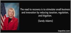 The road to recovery is to stimulate small business 