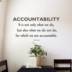 ACCOUNTABILITY 