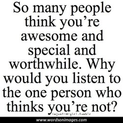 So many people 