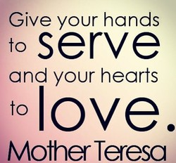 Give your hands 