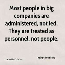 Most people in big 