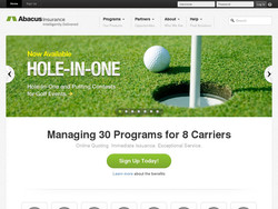 Insurance Intelligently Delivered Now Available programs Partners Opportuniies About Help HOLE-IN-ONE -an&Puttinå COnvestsg,'. • for-Golf Events, Managing 30 Programs for 8 Carriers Online Quoting. Immediate Issuance. Exceptional Service. Sign Up Today! Learn more about the benefits