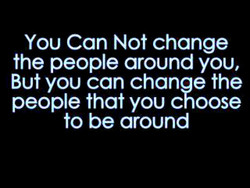 You Can Not change 