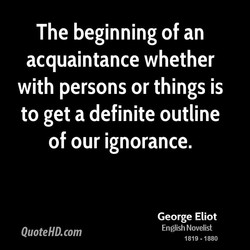 The beginning of an 