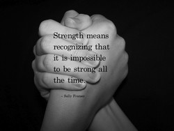 Strength means 